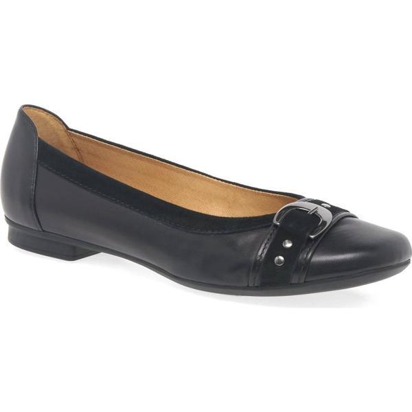 Gabor Colour: Indiana Womens Casual Pumps Colour: Gabor Black/Suede, Size: 3 fd9a39
