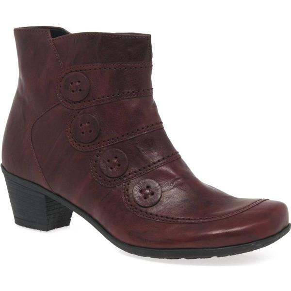 Gabor Georgie Red, Womens Ankle Boots Colour: Red, Georgie Size: 4 4573f4