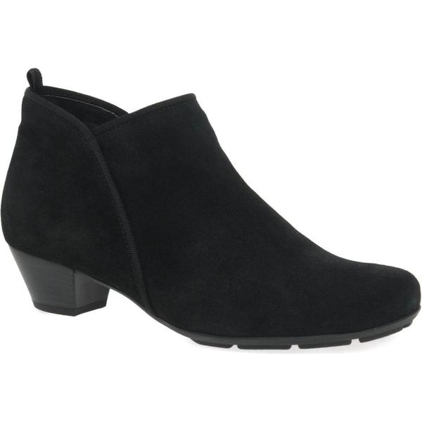 Gabor Colour: Trudy Womens Ankle Boots Colour: Gabor Black Suede, Size: 5.5 382395