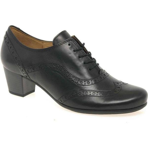 Gabor Denver High Cut Size: Brogue Shoes Colour: Black, Size: Cut 5.5 723b21