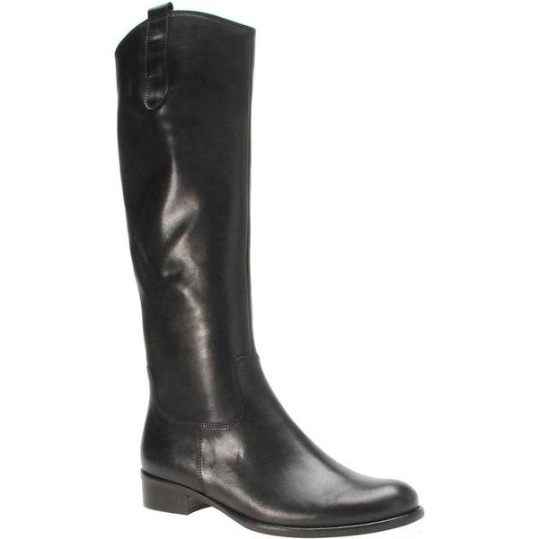 Gabor Brook Womens Long 2.5 Boots Colour: Black, Size: 2.5 Long 901d51