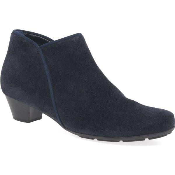 Gabor Colour: Trudy Womens Ankle Boots Colour: Gabor Navy Suede, Size: 4 4521ac