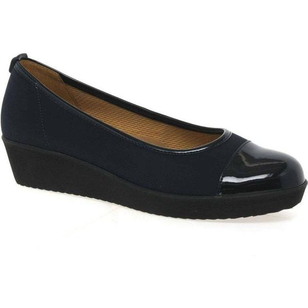 Gabor Orient Womens Slip Navy, On Casual Shoes Colour: Navy, Slip Size: 6 f4447f