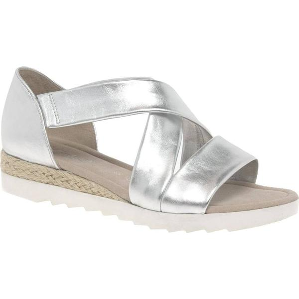 Gabor Promise Colour: Womens Sandals Colour: Promise Silver, Size: 7 f63556