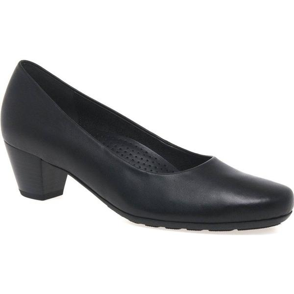 Gabor Brambling Womens Court Size: Shoes Colour: Black, Size: Court 8 37aade