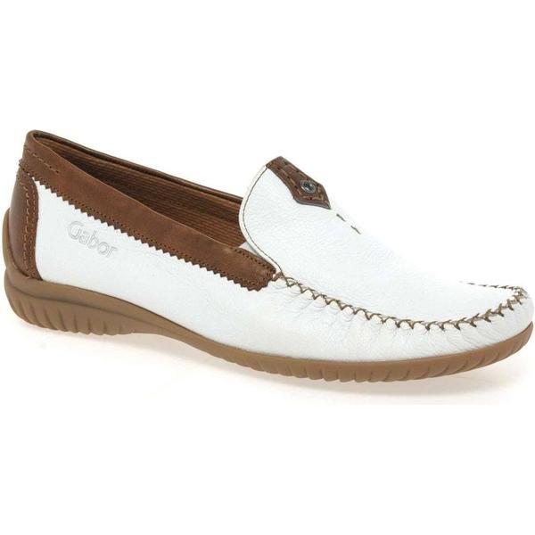 Gabor California 66.090 White Size: Casual Shoe Colour: White, Size: White 6.5 9b053e