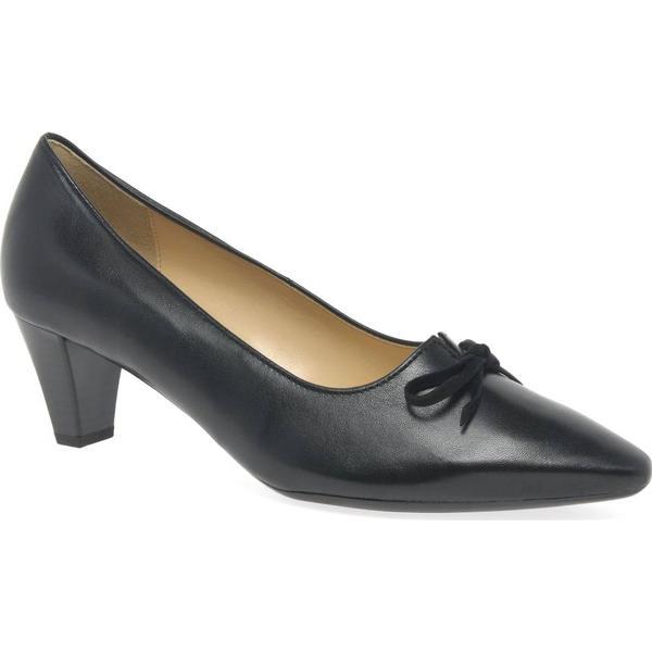 Gabor Pearl Womens Dress Size: Court Shoes Colour: Black/Suede, Size: Dress 6.5 2ec58d