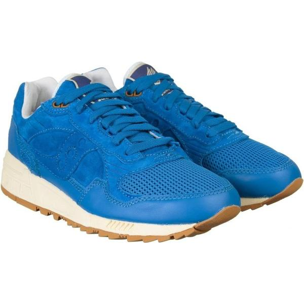 Saucony Pack) Shadow 5000 Shoes - Blue (Bodega Elite Pack) Saucony Size: UK 7.5, Col 1b0283
