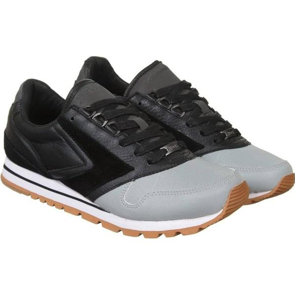 Brooks Heritage Black/Reflective x Barneys Chariot Shoe - Black/Reflective Heritage Size: UK 7.5 1645b6