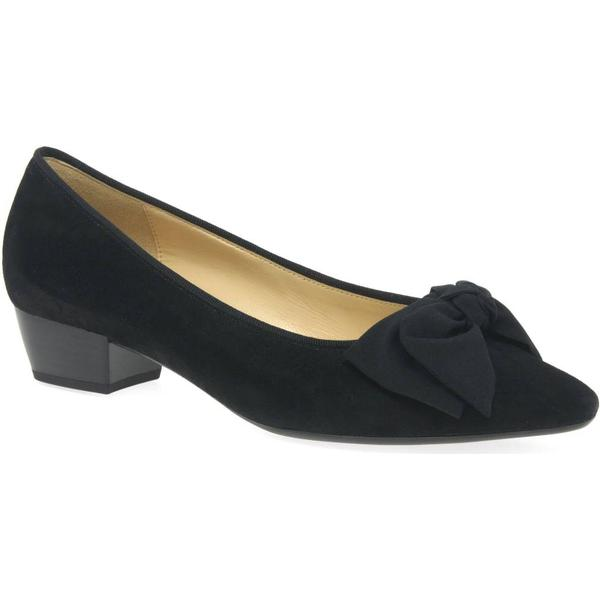 Gabor Tarbert Womens Court Shoes 4 Colour: Black Suede, Size: 4 Shoes 9e6428