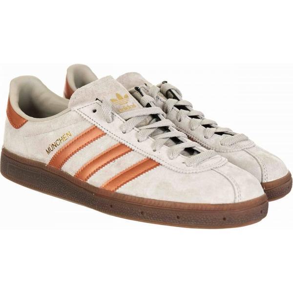 Adidas Originals Munchen Shoes Off - Off Grey/Bronze Colour: Off Shoes Grey/Bron e580fc