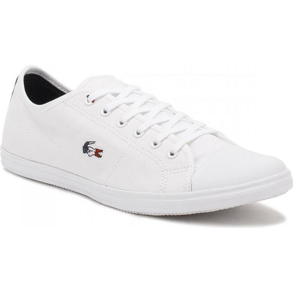 Lacoste Womens Trainers White Ziane 317 1 Trainers Womens d4f09c