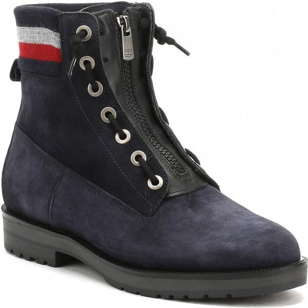 Tommy Hilfiger West Womens Midnight Blue West Hilfiger 9B1 Ankle Boots 807098