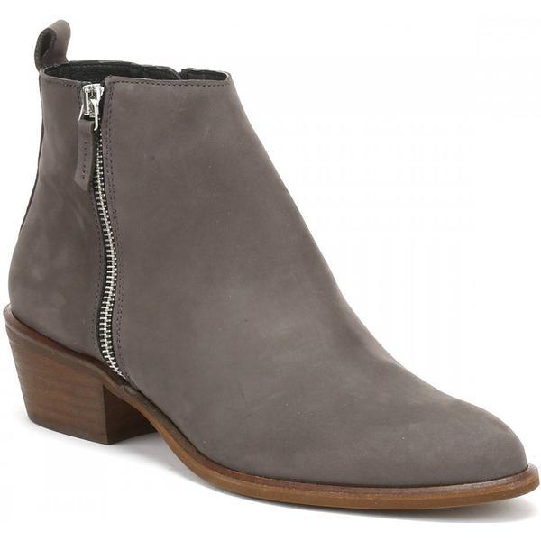 Cara Grey Womens Earl Grey Cara Nubuck Fern Ankle Boots 1e8918