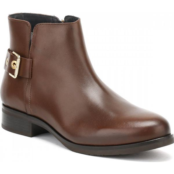Tommy 1A Hilfiger Womens Brown Tessa 1A Tommy Ankle Boots 83cfae