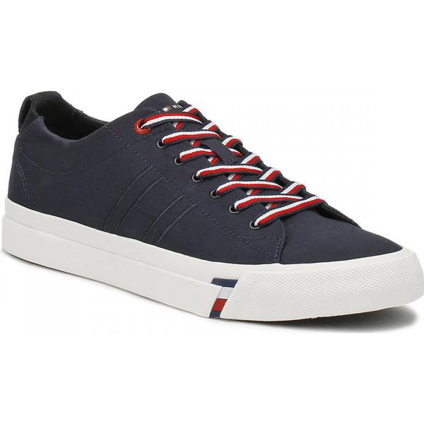 Tommy Hilfiger 1D Mens Midnight Blue Dino 1D Hilfiger Trainers 313dd2