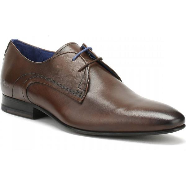 Ted Mens Baker Mens Ted Brown Leather Peair Shoes 61baff