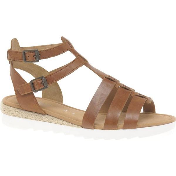 Gabor Felicity Women's Mule Size: Wedge Sandals Colour: Peanut, Size: Mule 6.5 63dc55