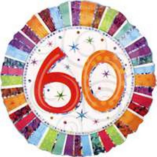 Amscan Standard Radiant Birthday 60 (1607201)