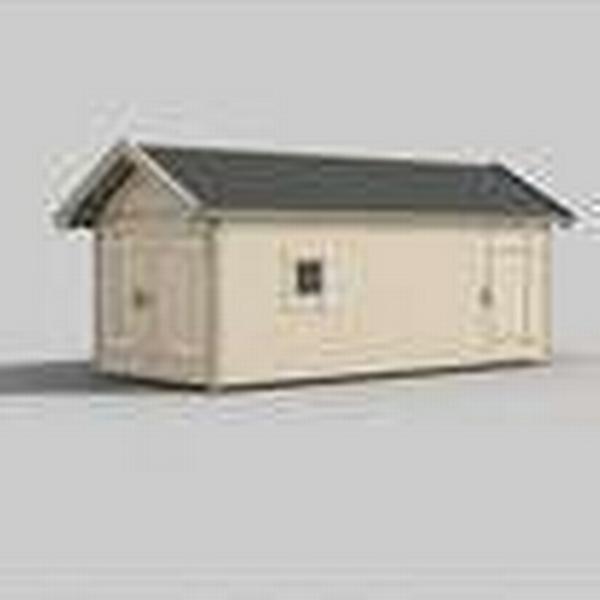 Trähuset Peter 15-4 (Byggnadsarea 15 m²) Stugpaket