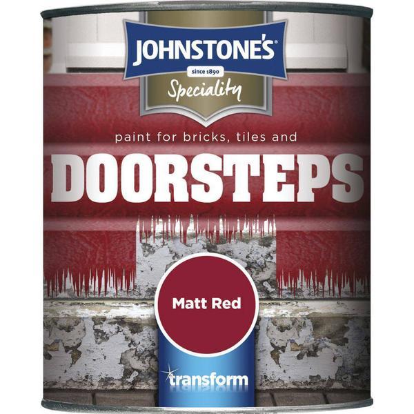 Johnstones Speciality Doorsteps Concrete Paint Red 0.75L