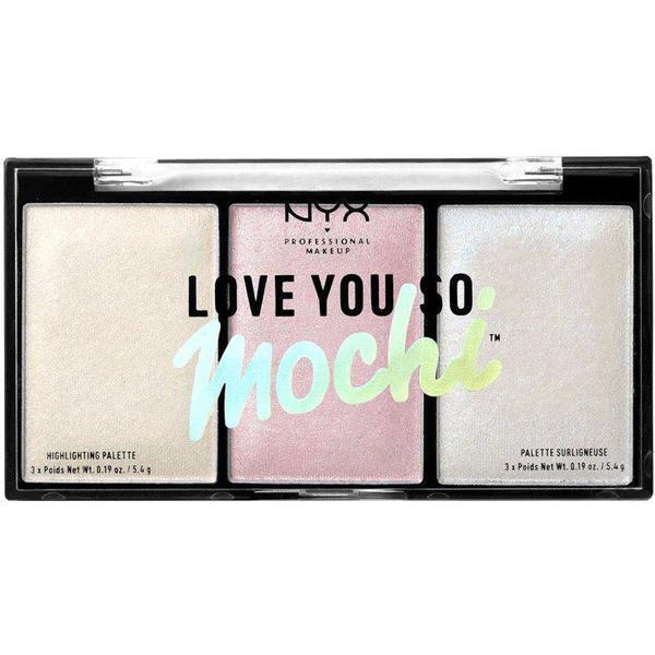 NYX Love You So Mochi Highlighting Palette Arcade Glam