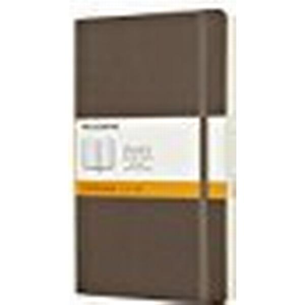 Moleskine Earth Brown Notebook Large Ruled Soft