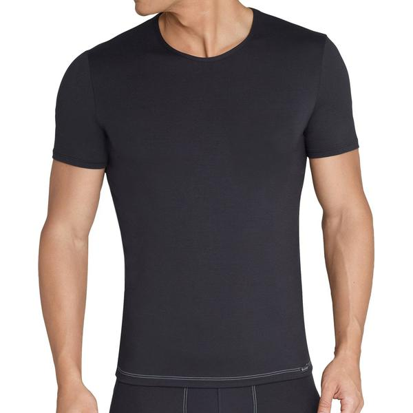 Sloggi Basic Soft O-Neck Undershirt - Black
