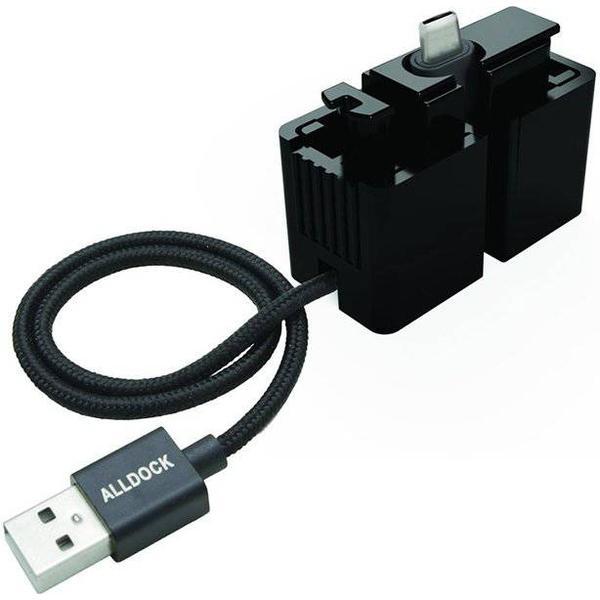 ALLDOCK One-Hand USB A 2.0 -USB C 3.0 Adapter