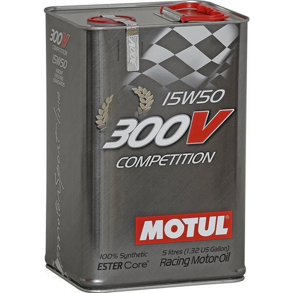 Motul 300V Competition 15W-50 Motor Oil