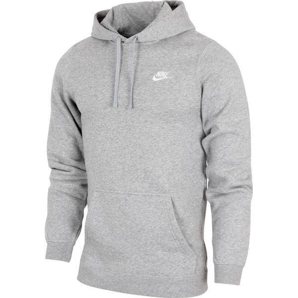 Nike Club Fleece Hoodie - Grey