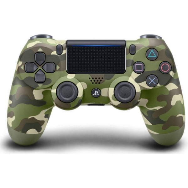 Sony DualShock 4 V2 - Green Camouflage (PlayStation 4)