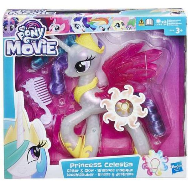 Hasbro My Little Pony the Movie Glitter & Glow Princess ...