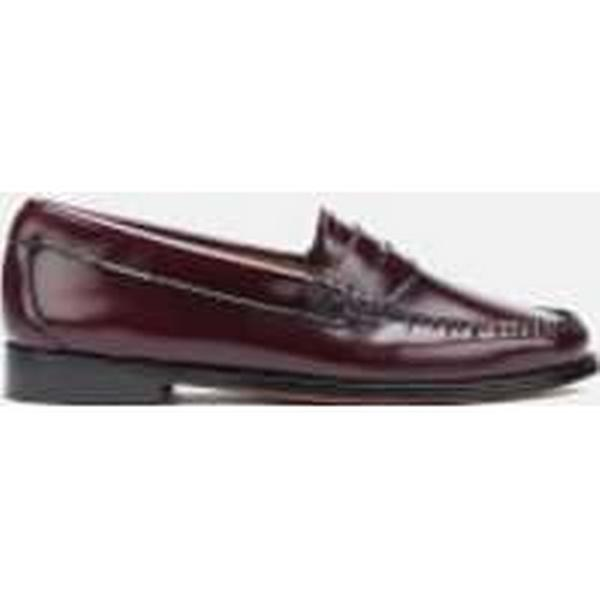 Bass Weejuns Women's Wine Penny Leather Loafers - Wine Women's - UK 3 - Burgundy 5d4ed0