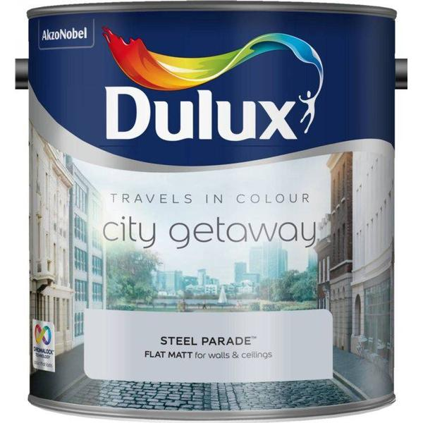 Dulux Travels In Colour City Gateway Wall Paint, Ceiling Paint Grey 2.5L