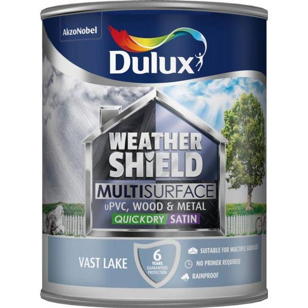 Dulux Weathershield Multisurface Wood Paint, Metal Paint Blue 0.75L
