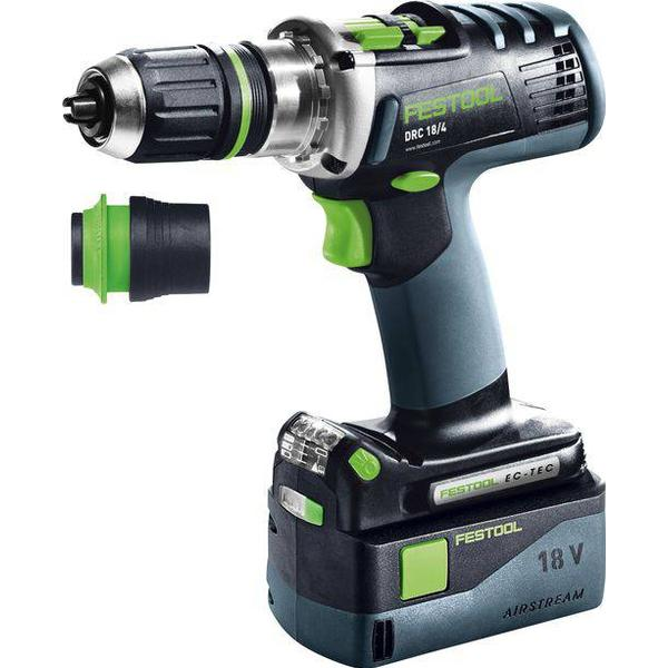 Festool DRC 18/4 Li 5.2-Plus Quadrive (2x5.2Ah)