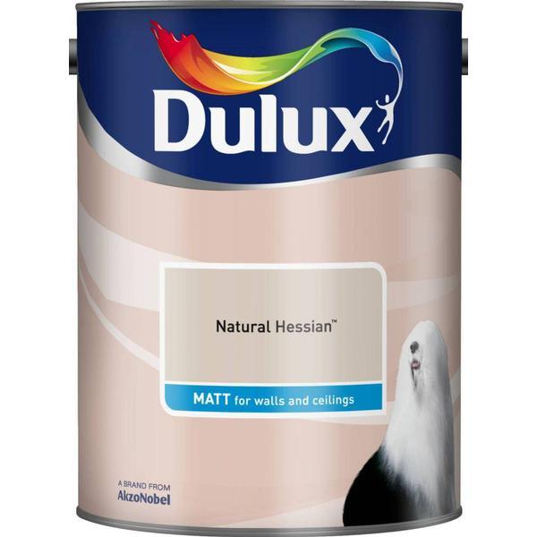 Dulux Matt Wall Paint, Ceiling Paint Beige 5L