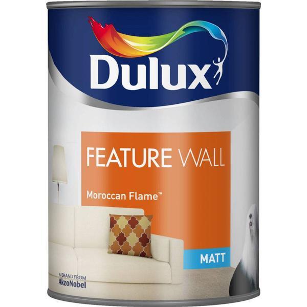 Dulux Feature Wall Paint Orange 1.25L