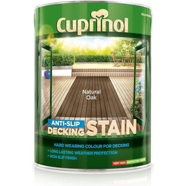 Cuprinol Anti Slip Decking Woodstain Beige 5L