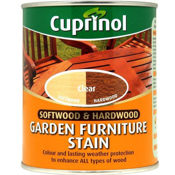 Cuprinol Softwood & Hardwood Garden Furniture Woodstain Transparent 0.75L