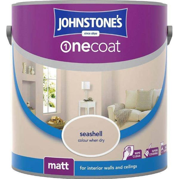 Johnstones One Coat Wall Paint, Ceiling Paint Off-white 2.5L