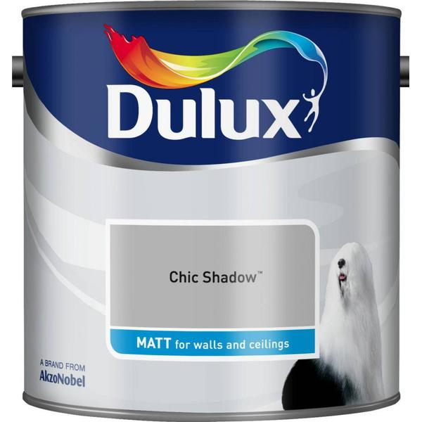 Dulux Matt Wall Paint, Ceiling Paint Grey 2.5L