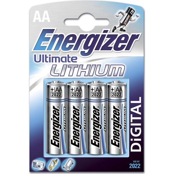 Energizer AA Ultimate Lithium 4-pack