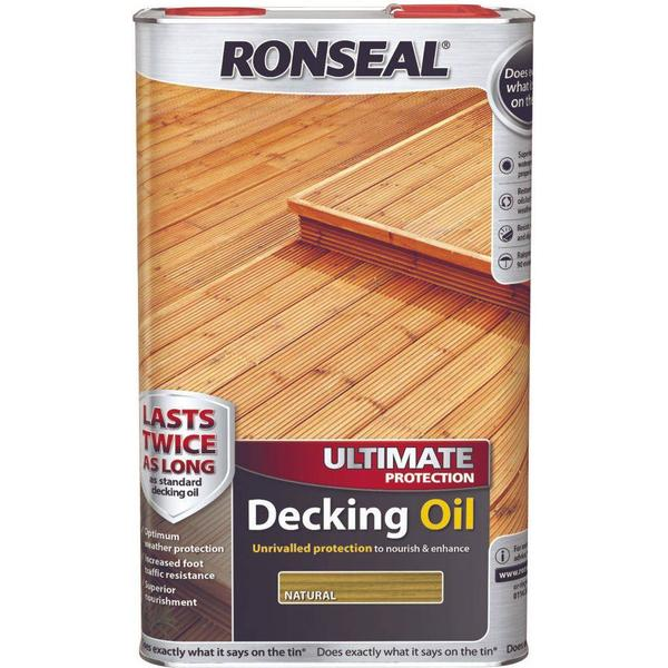 Ronseal Ultimate Protection Decking Oil Green 5L