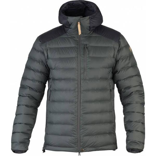Fjällräven Keb Touring Down Jacket - Stone Grey/Black