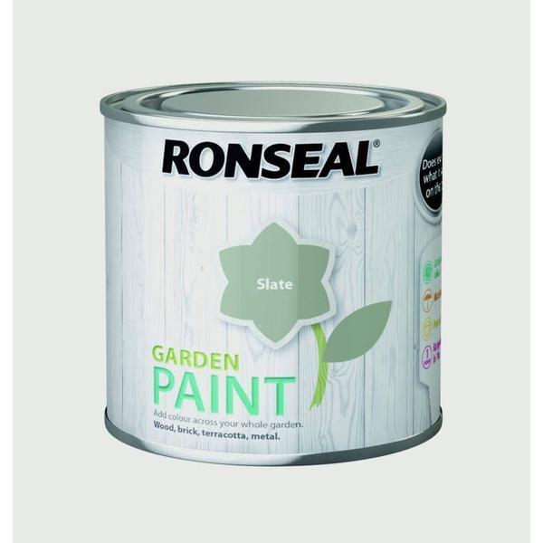Ronseal Garden Wood Paint Grey 0.25L