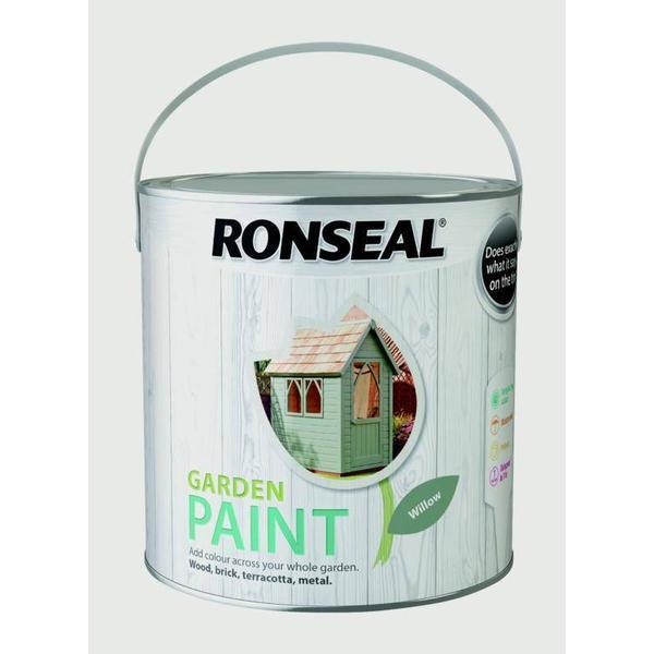 Ronseal Garden Wood Paint Green 2.5L