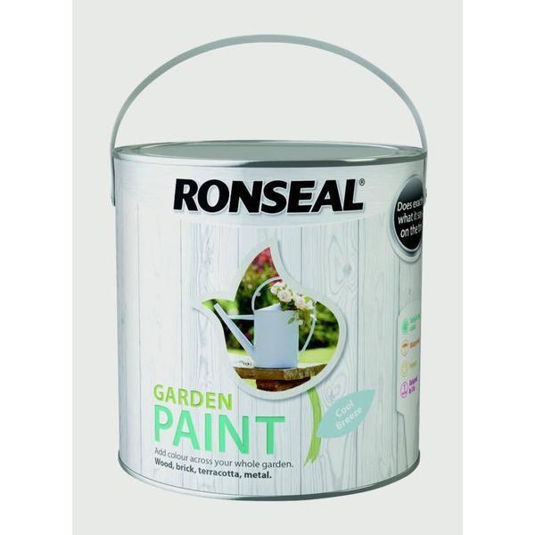 Ronseal Garden Wood Paint Blue 2.5L