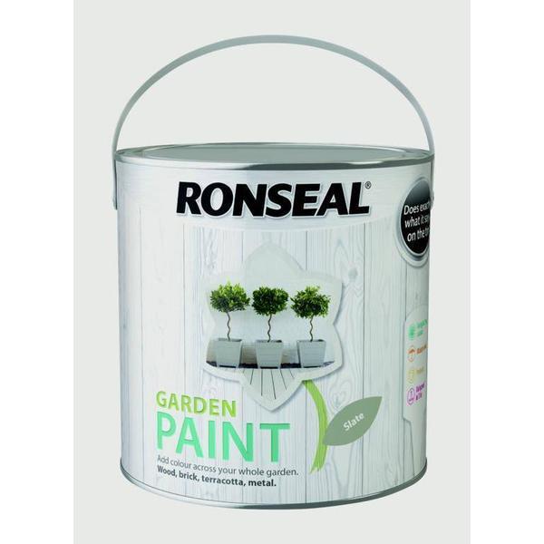 Ronseal Garden Wood Paint Grey 2.5L